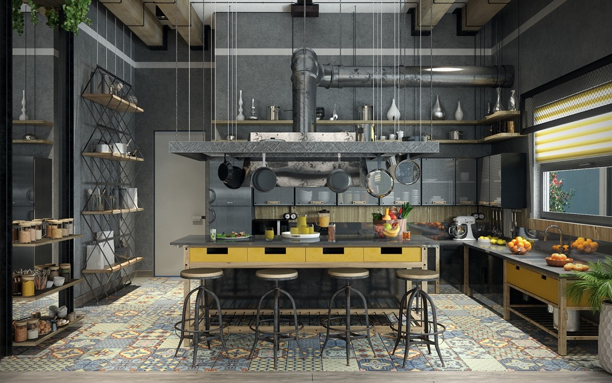 colorful-pattern-industrial-kitchen.jpg