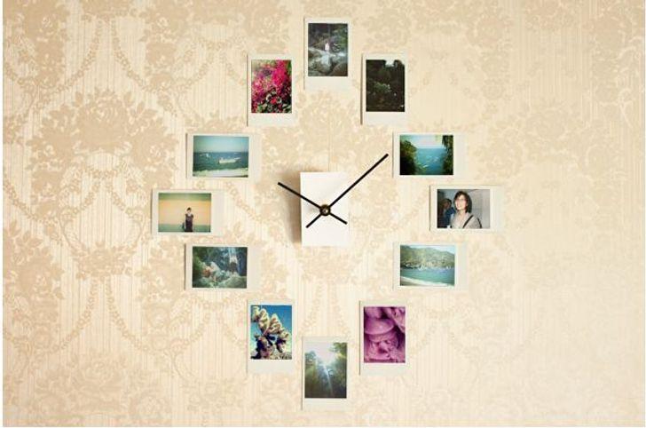 Fotoğraflardan oluşan bir saat yüzü.jpg
