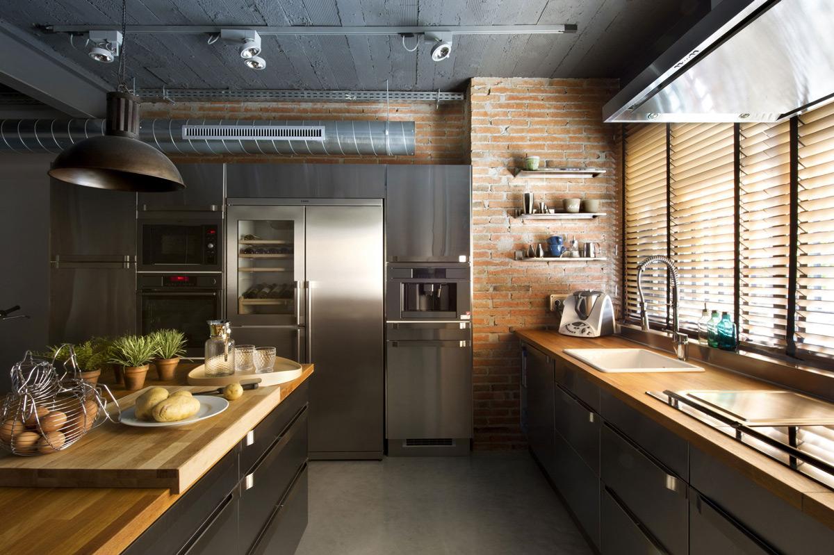 Kitchen-Brick-Wall-Island-Loft-Style-Home-Terrassa-Spain.jpg