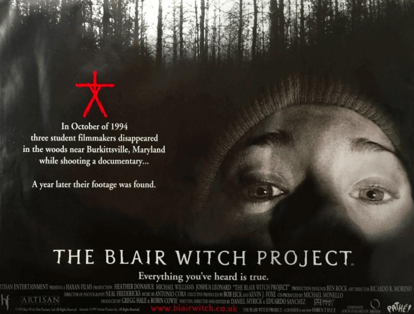 the blair witch project png - Netflix'teki En İyi 20 Korku Filmini Seçtik