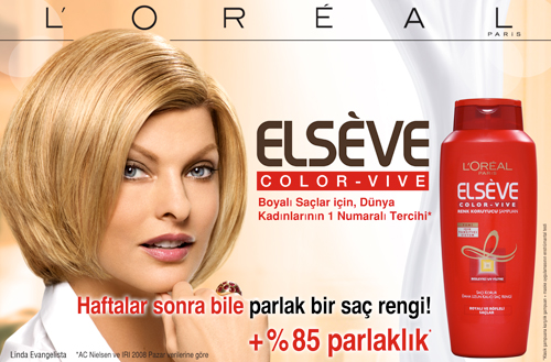 ELSÈVE COLOR-VIVE : Boyalı saçlar için, Dünya Kadınlarının 1 Numaralı Tercihi 10