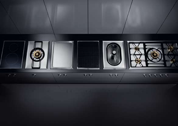 yeni gaggenau vario 400 serisi ile mutfaktaki en b y k ef. Black Bedroom Furniture Sets. Home Design Ideas