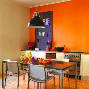 Renkli mutfak dekorasyonu - Cocinas pintadas fotos ...