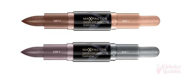 Max Factor Smokey Eye İki Renkli Kalem Far