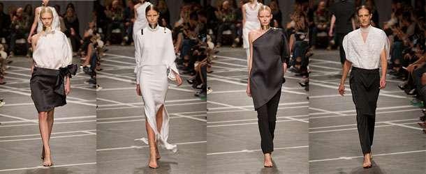 Givenchy ilkbahar yaz 2013 defilesi