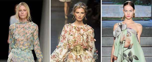 İlkbahar / Yaz 2014 Elbise Baskı Trendleri