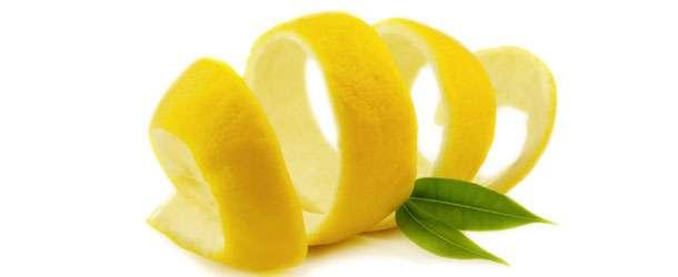 Limon kabuğu ile cilt temizliği