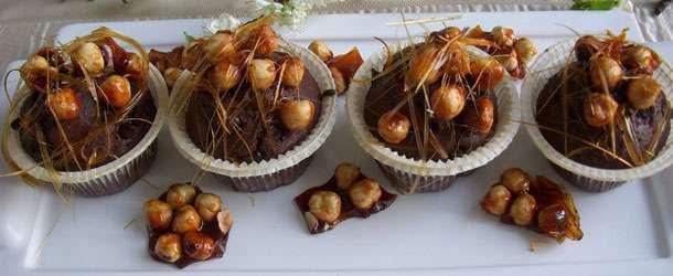 Fındık krokanlı muffin tarifi