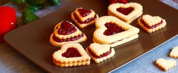 Kalp kurabiye tarifi
