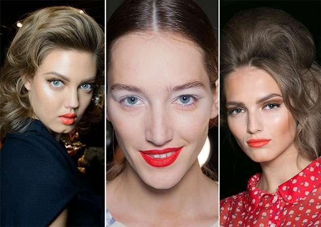 İlkbahar yaz 2014 makyaj trendleri