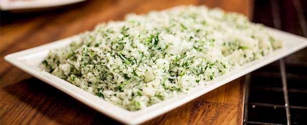 Zeytinyağlı yeşil pilav tarifi