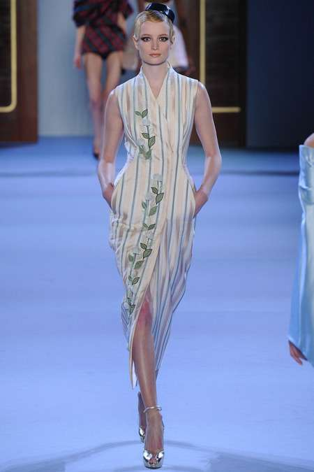 Ulyana Sergeenko 2014 İlkbahar Modelleri