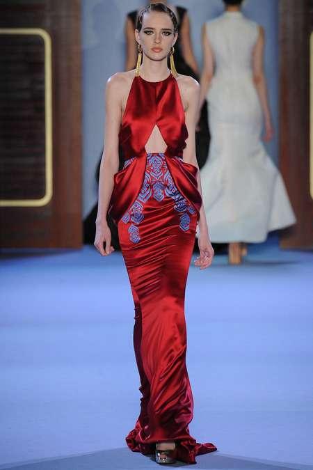 2014 Ulyana Sergeenko İlkbahar/Yaz Couture