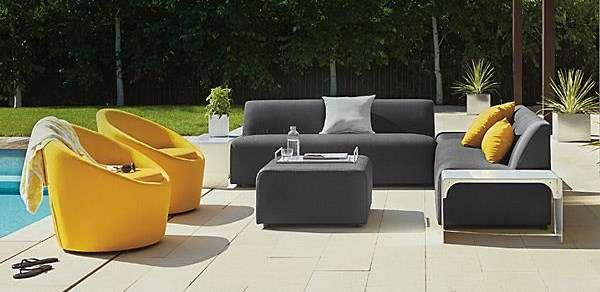 Bahçe mobilyaları için fikirler