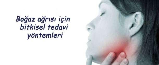 Boğaz ağrısı için bitkisel tedavi yöntemleri