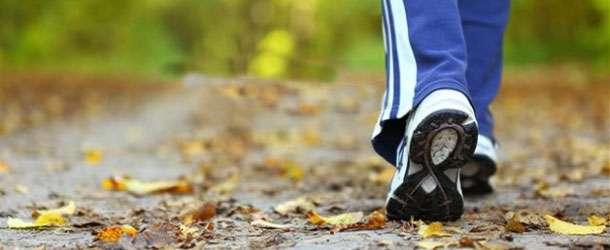 Doğru yürüyün 4 haftada 4.5 kilo verin