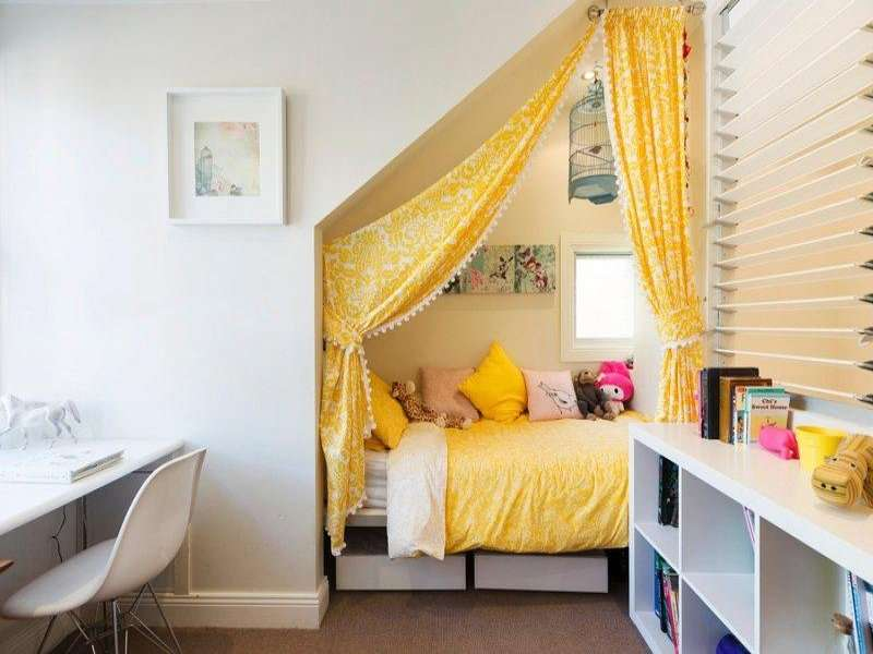 10 Creative Examples For Dividing Small Spaces: 2014 En Güzel Genç Odaları