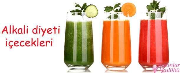 Alkali diyeti içecekleri