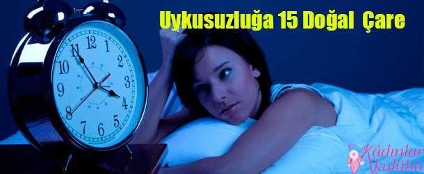 uykusuzluğa doğal çareler