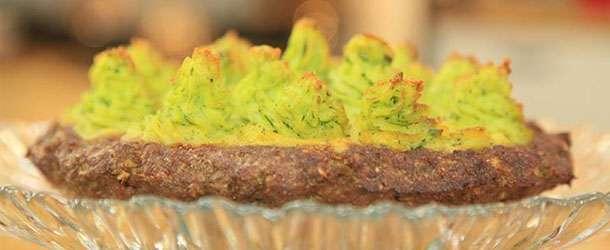 Yeşil püreli hasan paşa köftesi
