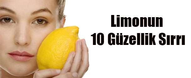 Limonun 10 Güzellik Sırrı