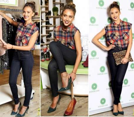 Piperlime Welcomes its' New Guest Editor Jessica Alba with a Celebration at their Soho Store