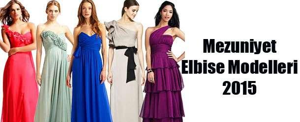 Mezuniyet Elbise Modelleri 2015