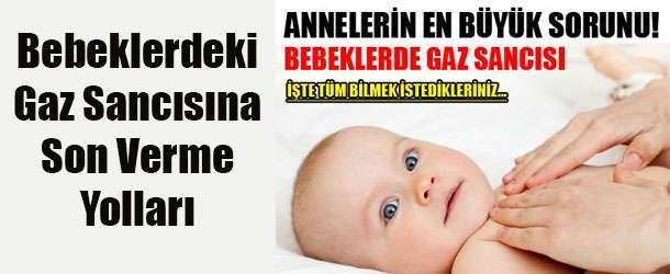 Bebeklerde Gaz Sancısı