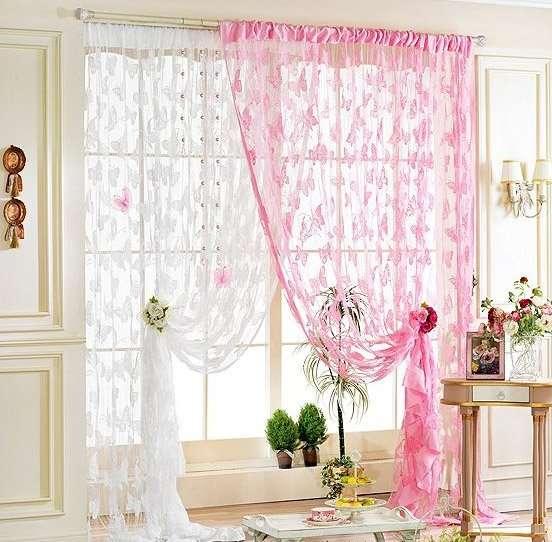T l perde modelleri 2015 kad nlar kul b for Window cotton design