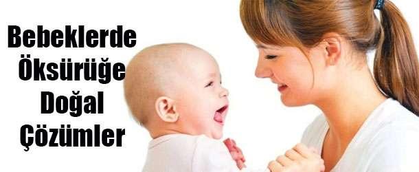 Bebeklerde Öksürüğe Ne İyi Gelir?