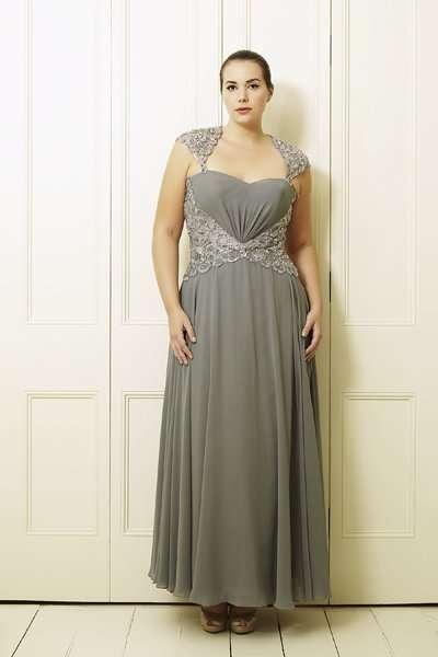 büyük beden dekolte elbise