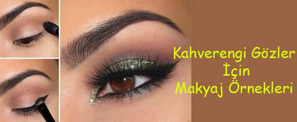 Kahverengi Gözler İçin Makyaj Örnekleri 2015