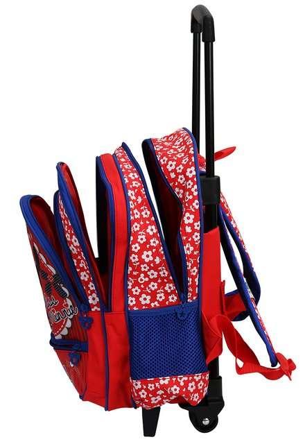 çekçekli mavi okul çantası