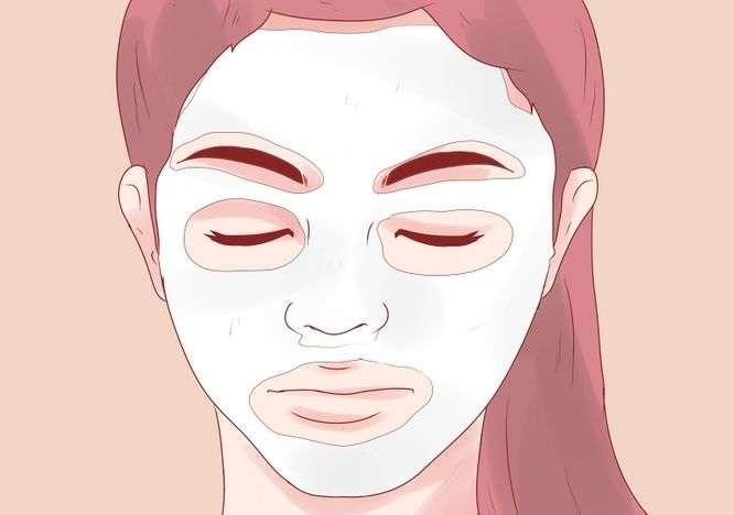 her cilt için kolay maskeler