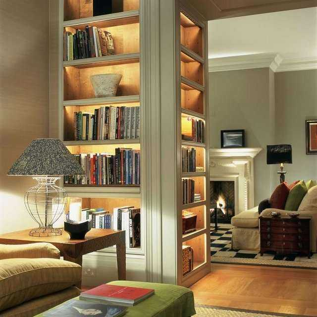 Ev Kütüphanesi Dekorasyon Modelleri