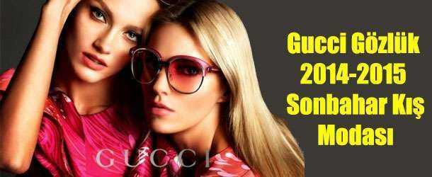 Gucci 2015 Gözlük Modası