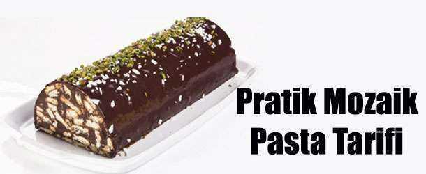 Pratik Mozaik Pasta Tarifi