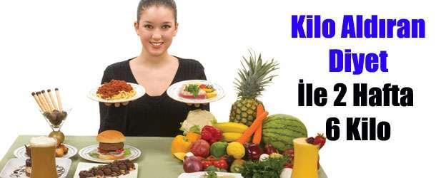 Kilo Aldıran 3000 Kalorilik Diyet Listesi Ve Kilo Almak İçin Yapılması Gerekenler