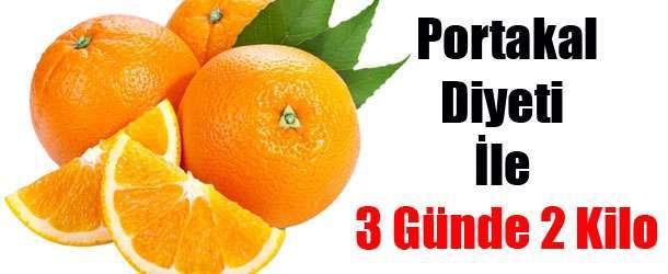 Portakal Diyeti İle 3 Günde 2 Kilo