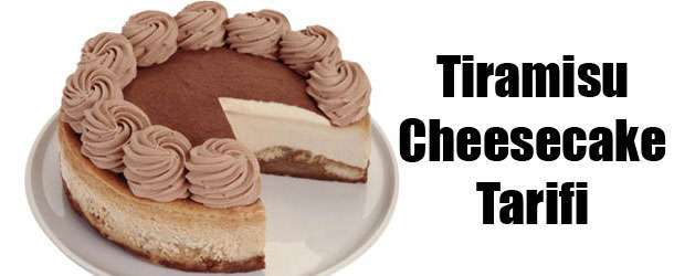 Tiramisu Cheesecake Nasıl Yapılır?