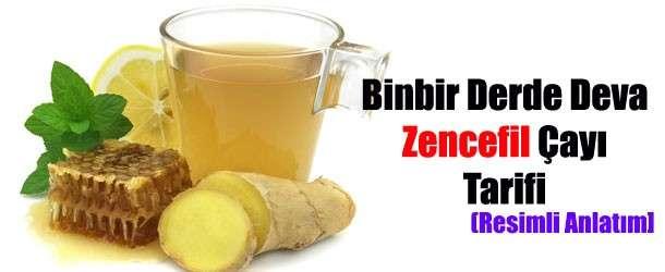 Soğuk Algınlığına Zencefil Çayı Tarifi