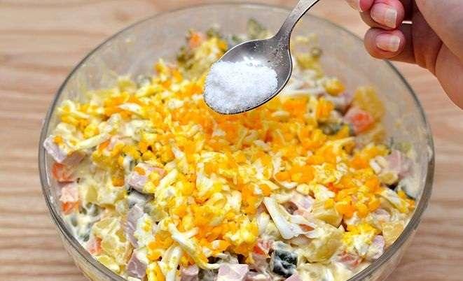 Салат максим рецепт с фото