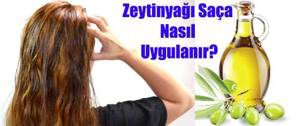 Zeytinyağı İle Saç Bakımı Maskesi