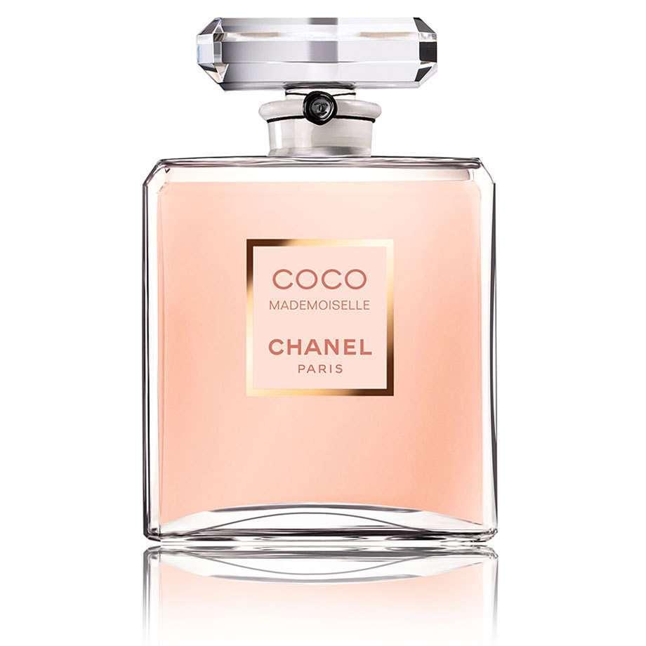 Coco chanel perfume label