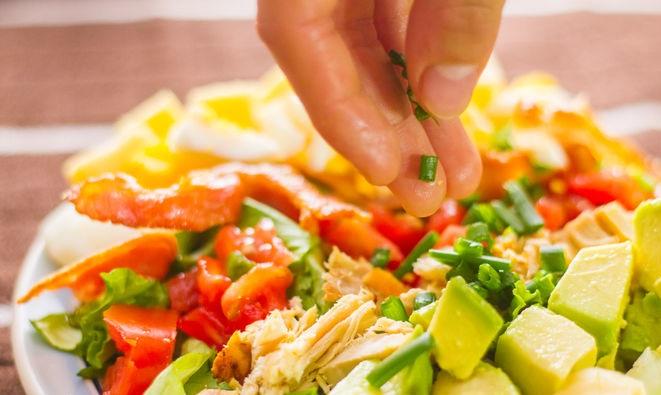 Cobb Salatası Nasıl Yapılır Resimli Tarif 29