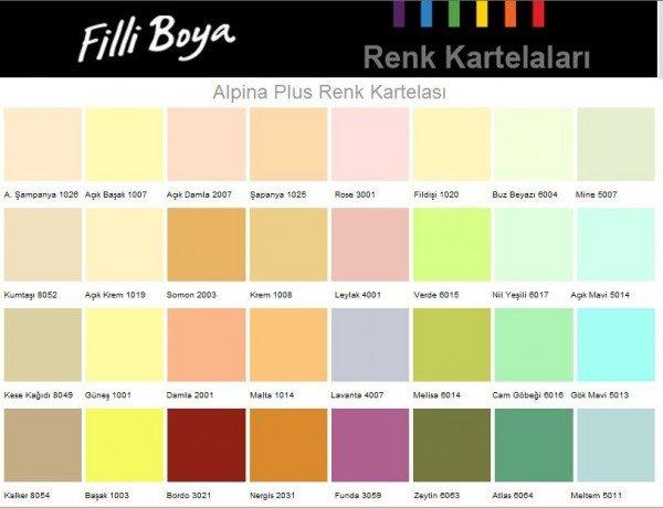 1b841b84e5d7b Filli Boya İç Cephe Renk Kartelası 2016 Resimleri