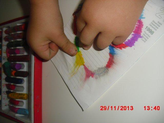 Pastel Boya çalışmaları Okul öncesi Için 40 örnek