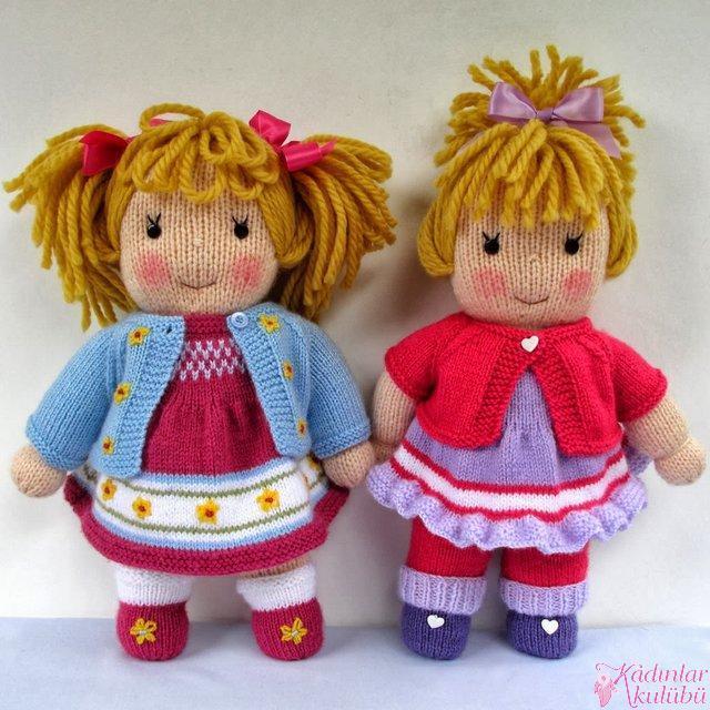 Free Knitting Patterns Toys Dolls Clothes : En Guzel orgu Oyuncak Bebek Modelleri 2016   Okul oncesi Egitimi ve cocuk Gel...