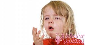 Çocukların öksürüğünü hafifletmek