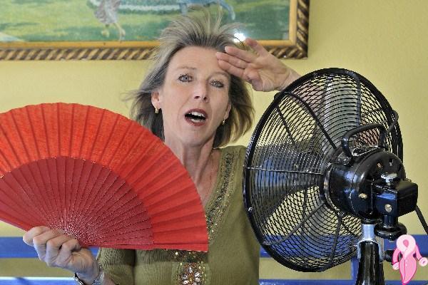 Menopoz döneminde Sıcak Basmaları